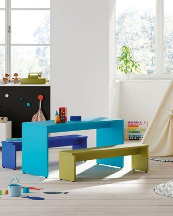 Taules i banquetes infantils Pukka 6 Infinity 2 Jotajotape jjp by mobles Gifreu