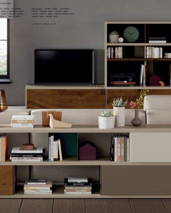 Line Llibreria darrera sofà ViVe muebles Verge programa llibrera llibreries living by mobles Gifreu