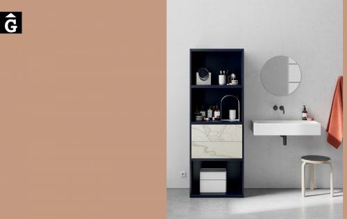 Moble llibreria bany amb calaixos LINE ViVe muebles Verge programa llibrera llibreries living by mobles Gifreu