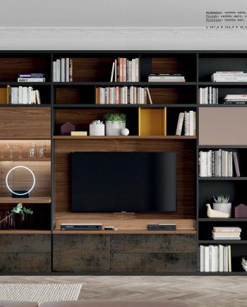 Line llibreria led ViVe muebles Verge programa llibrera llibreries living by mobles Gifreu