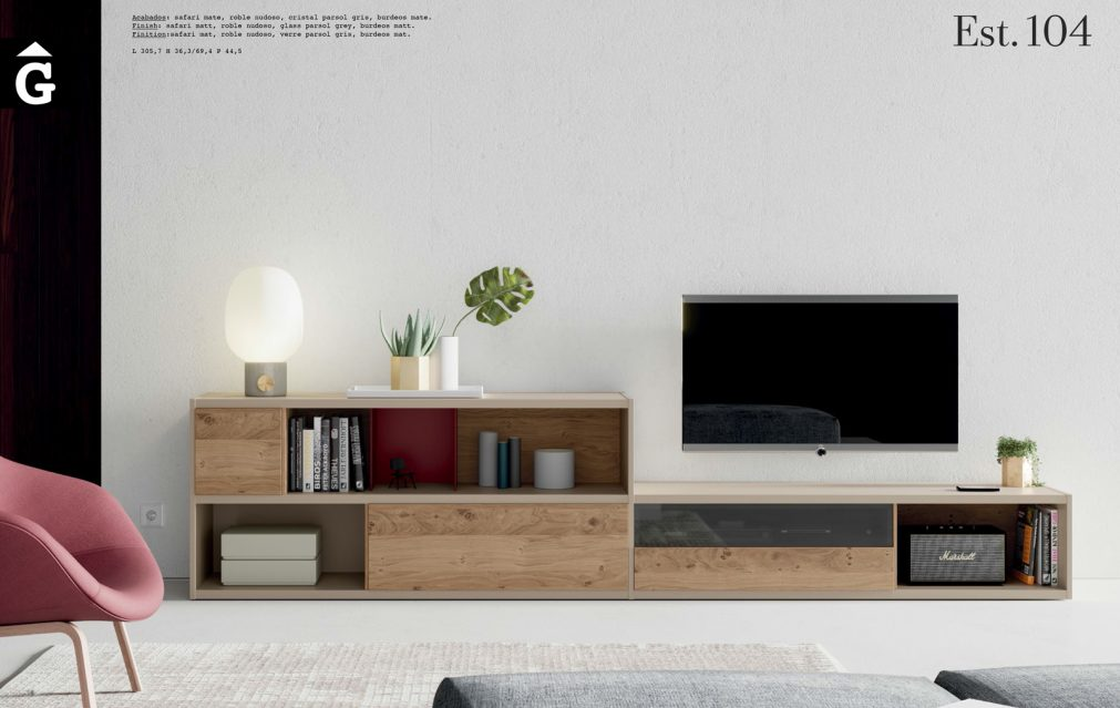 Line moble Tv ViVe muebles Verge programa llibrera llibreries living by mobles Gifreu