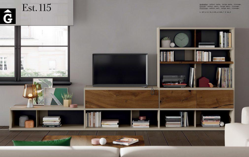 Line moble llibreria Tv ViVe muebles Verge programa llibrera llibreries living by mobles Gifreu