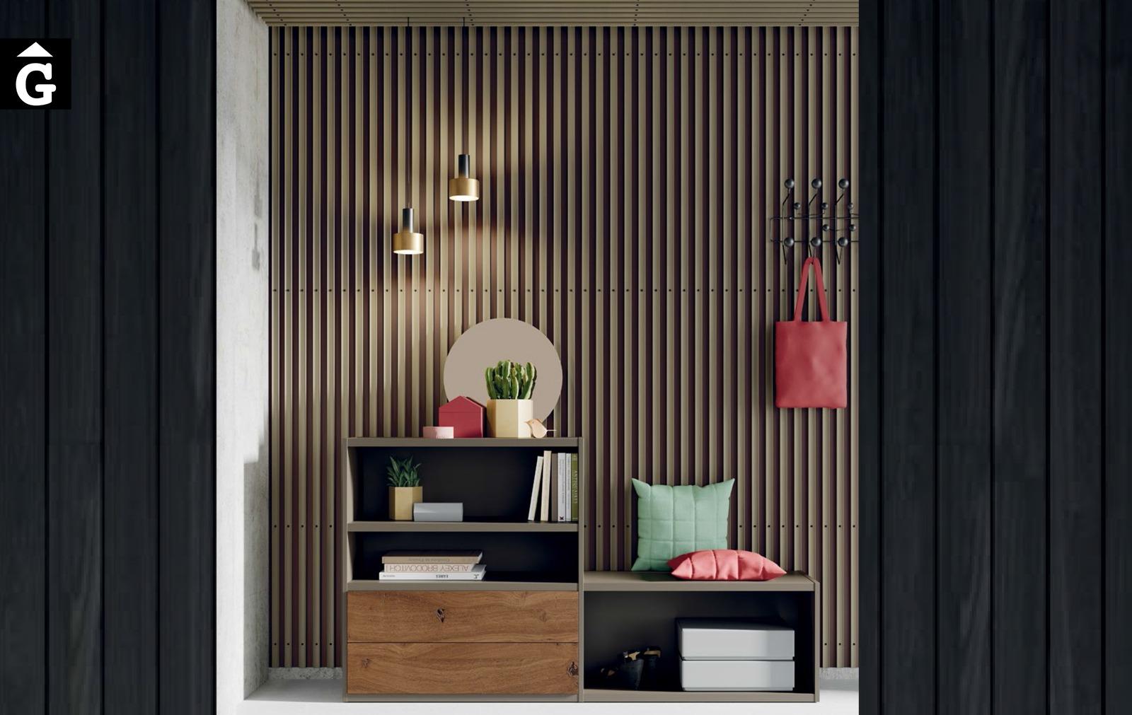 Line moble rebedor ViVe muebles Verge programa llibrera llibreries living by mobles Gifreu