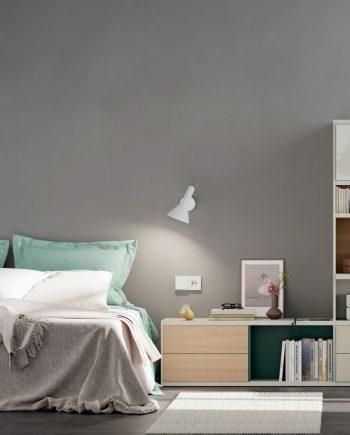Llibreria habitació Line ViVe muebles Verge programa llibrera llibreries living by mobles Gifreu