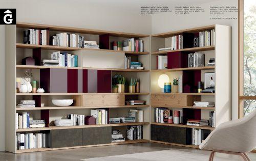 Llibreria racó Line ViVe muebles Verge programa llibrera llibreries living by mobles Gifreu