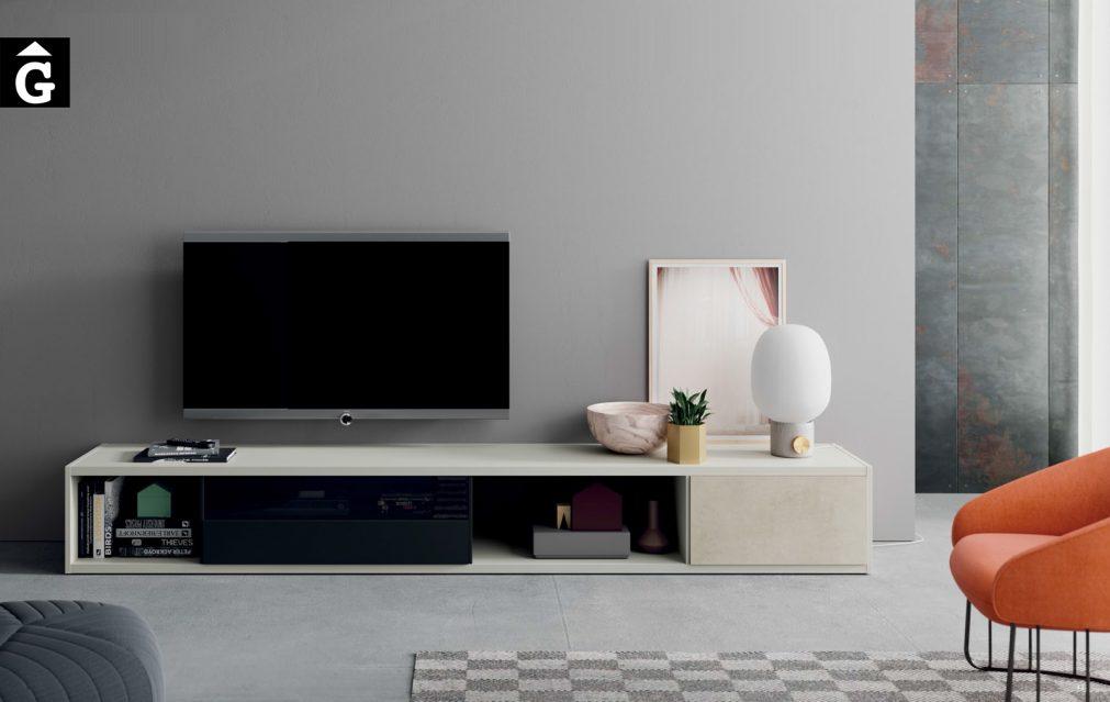 Moble TV baix Line ViVe muebles Verge programa llibrera llibreries living by mobles Gifreu