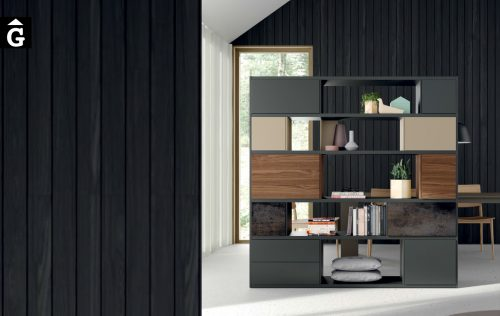 Moble llibreria Line ViVe muebles Verge programa llibrera llibreries living by mobles Gifreu