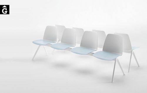 Banc Unnia seients individuals Inclass mobles Gifreu