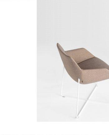 Butaca Dunas XS base varilla Inclass mobles Gifreu