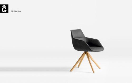 Butaca pota fusta Dunas XS Inclass mobles Gifreu