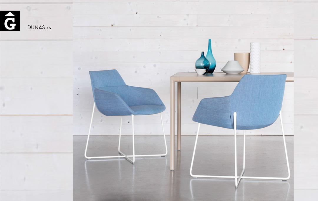 Butaca pota varilla Dunas XS Inclass mobles Gifreu