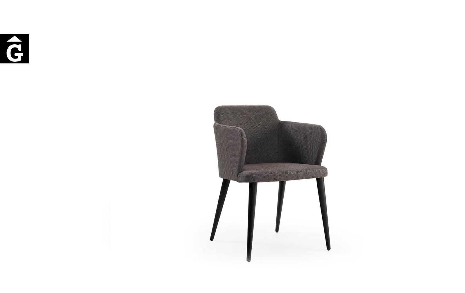Cadira Evita MR fosca Doos by mobles Gifreu taules i cadires alta qualitat