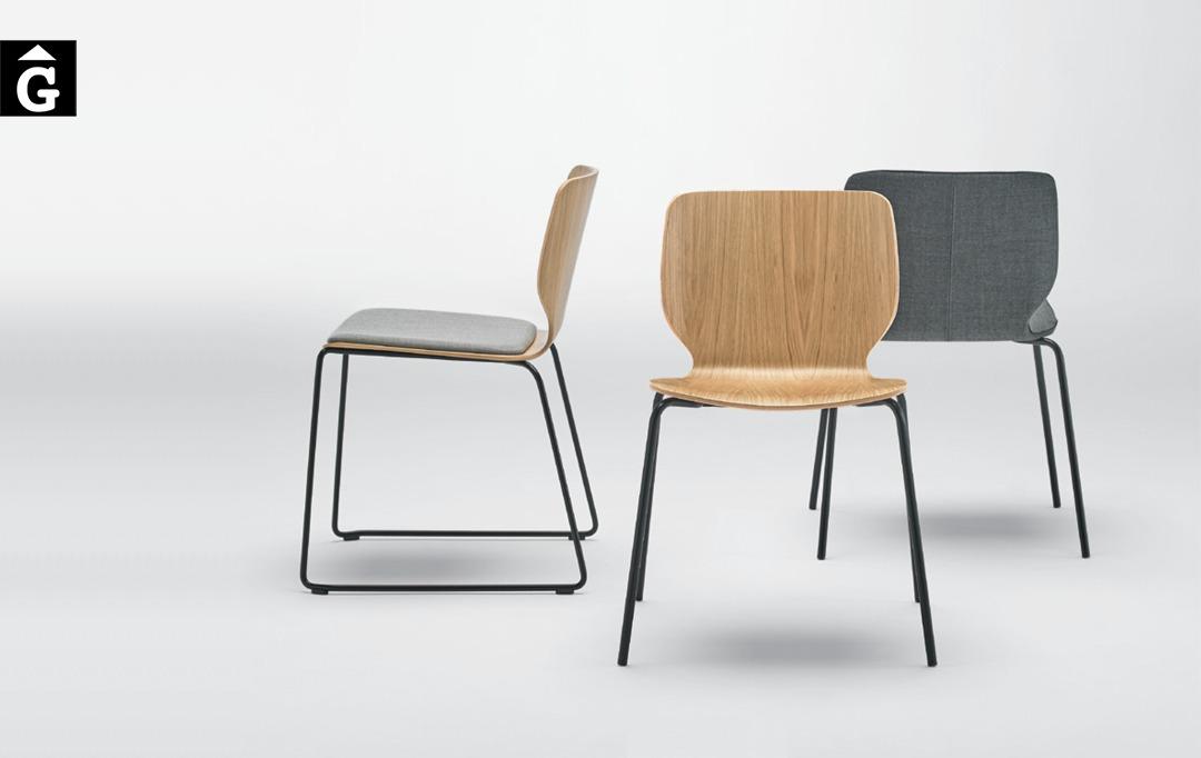 Cadira Nim fusta Inclass mobles Gifreu