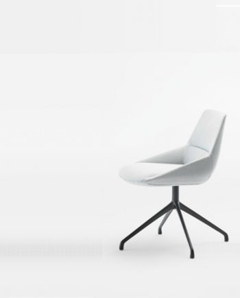 Cadira peu central metall Dunas XS Inclass mobles Gifreu