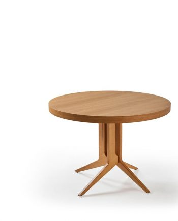 Taula rodona extensible Londres deDoos by mobles Gifreu taules i cadires alta qualitat