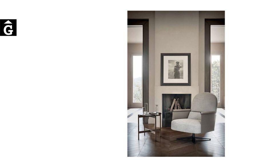 Butaca Beyl alta ambient sobri - Ditre Italia Sofas disseny i qualitat alta by mobles Gifreu