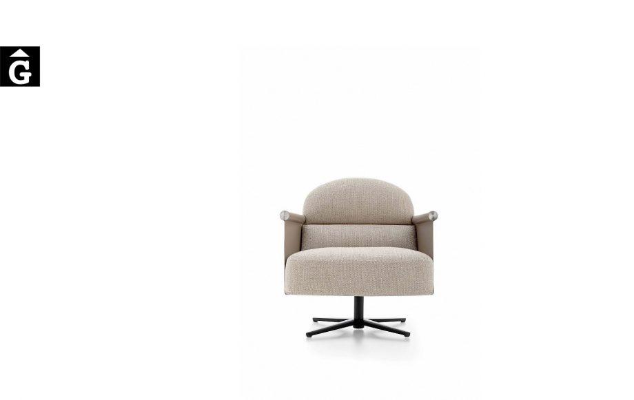 Butaca Beyl alta molt acollidora i elegant - Ditre Italia Sofas disseny i qualitat alta by mobles Gifreu
