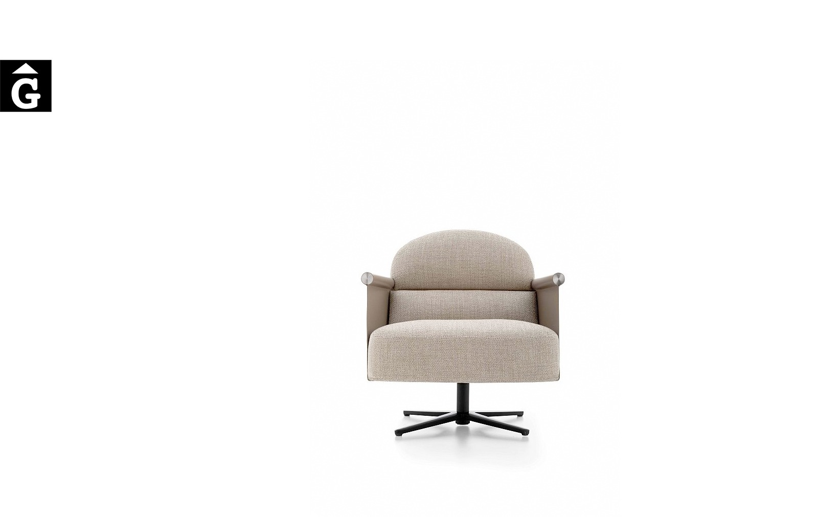 Butaca Beyl alta molt acollidora i elegant – Ditre Italia Sofas disseny i qualitat alta by mobles Gifreu