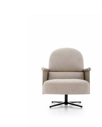 Butaca Beyl giratoria i molt elegant - Ditre Italia Sofas disseny i qualitat alta by mobles Gifreu