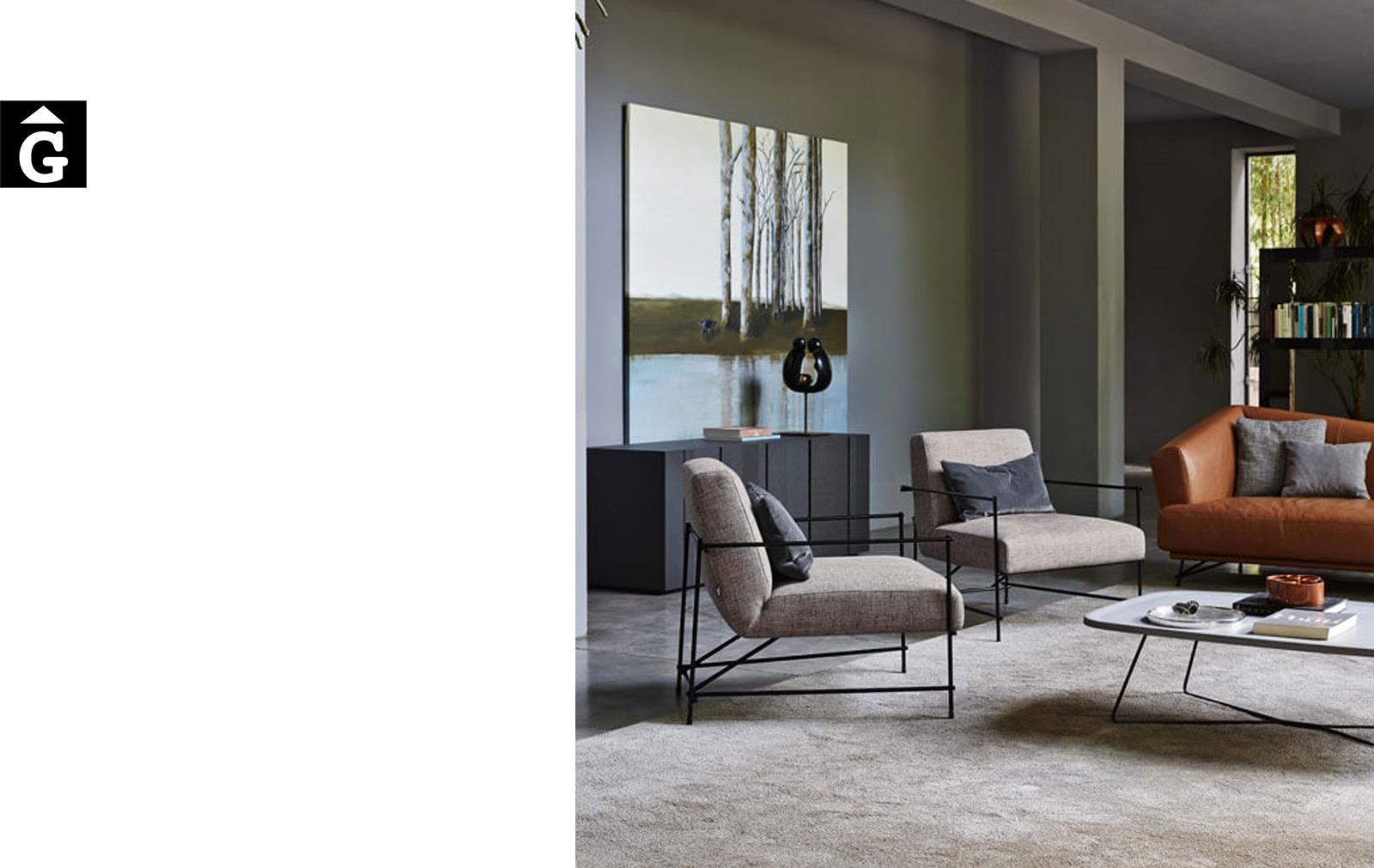 Butaca Kyo ambientda - Ditre Italia Sofas disseny i qualitat alta by mobles Gifreu