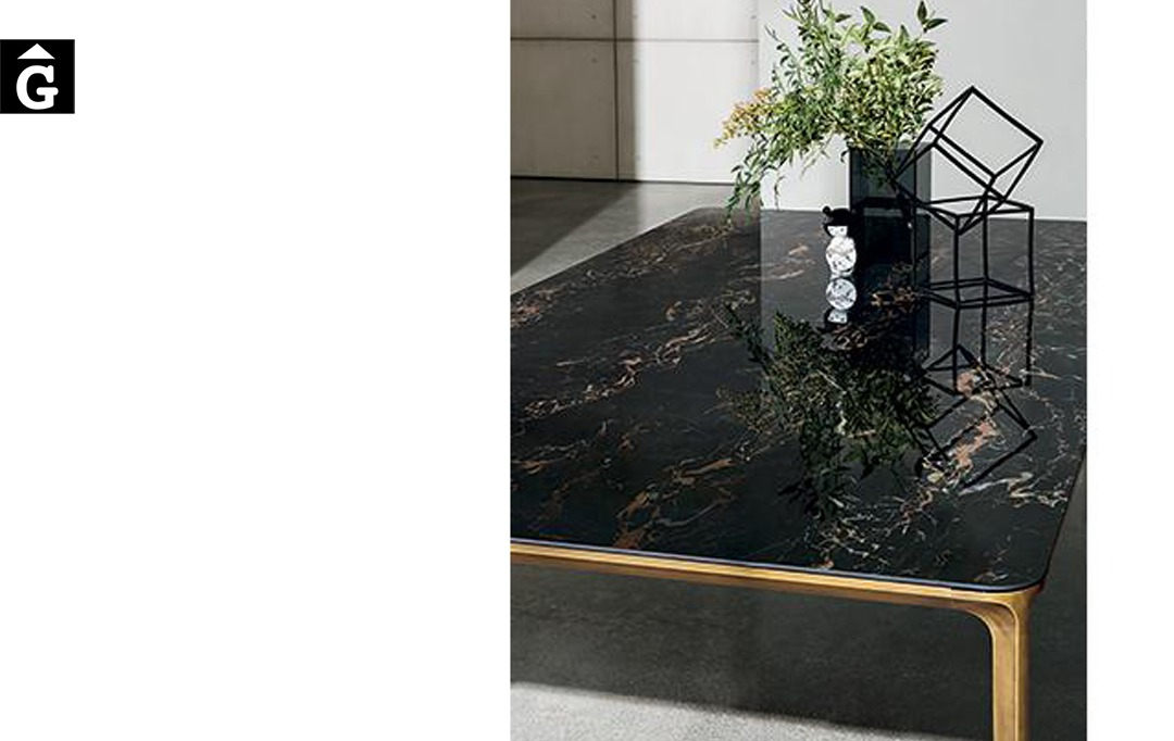 Taula rectangular Slim detall Sovet per mobles Gifreu