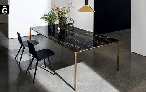 Taula rectangular Slim disseny Matthiu Demacker Sovet per mobles Gifreu