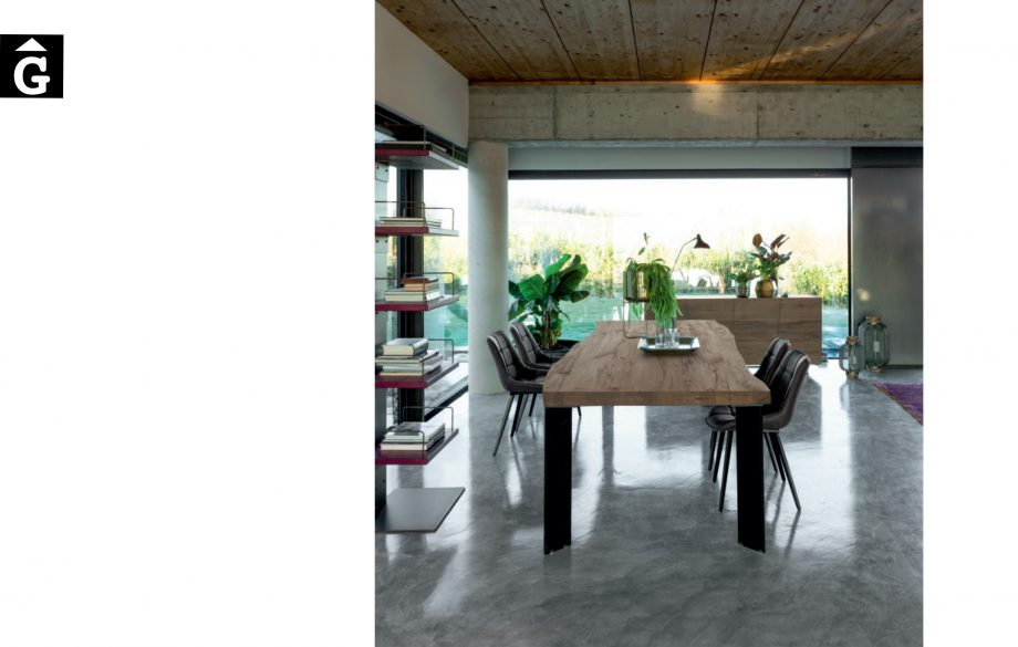 Taula Master ambient microciment Devina Nais V2 by mobles Gifreu