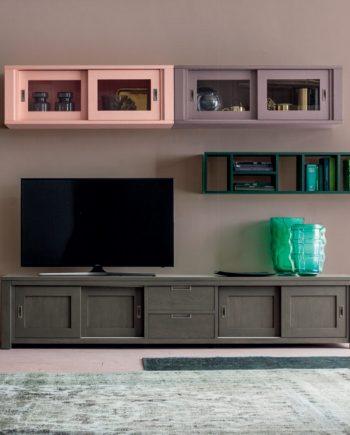 Moble menjador Colors Eclettica Roure massis pintat Devina Nais V2 by mobles Gifreu