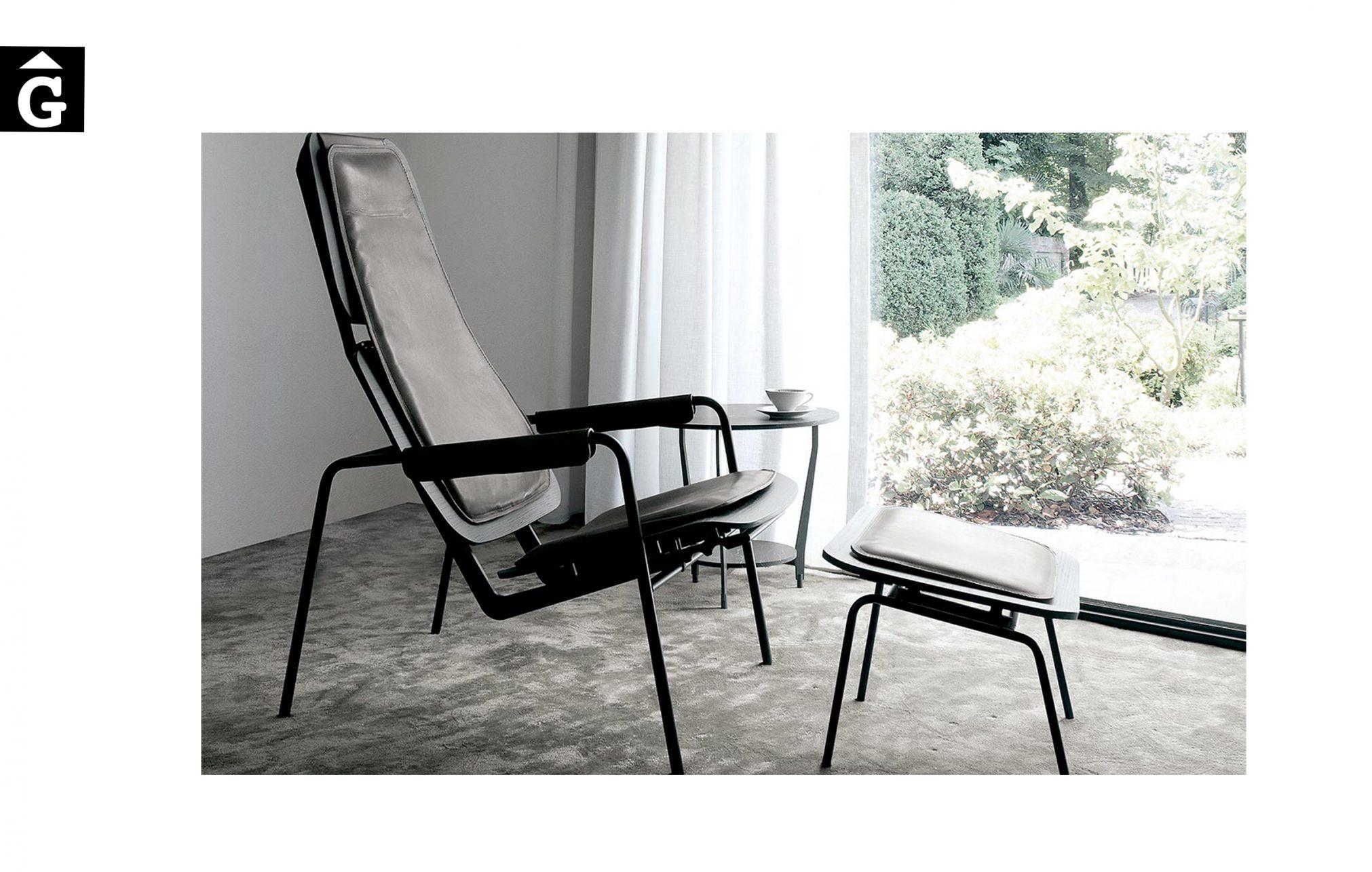 Butaca Viking GL disseny industrial atractiu pràctica Extendo Design Source by mobles Gifreu botiga elements interiors