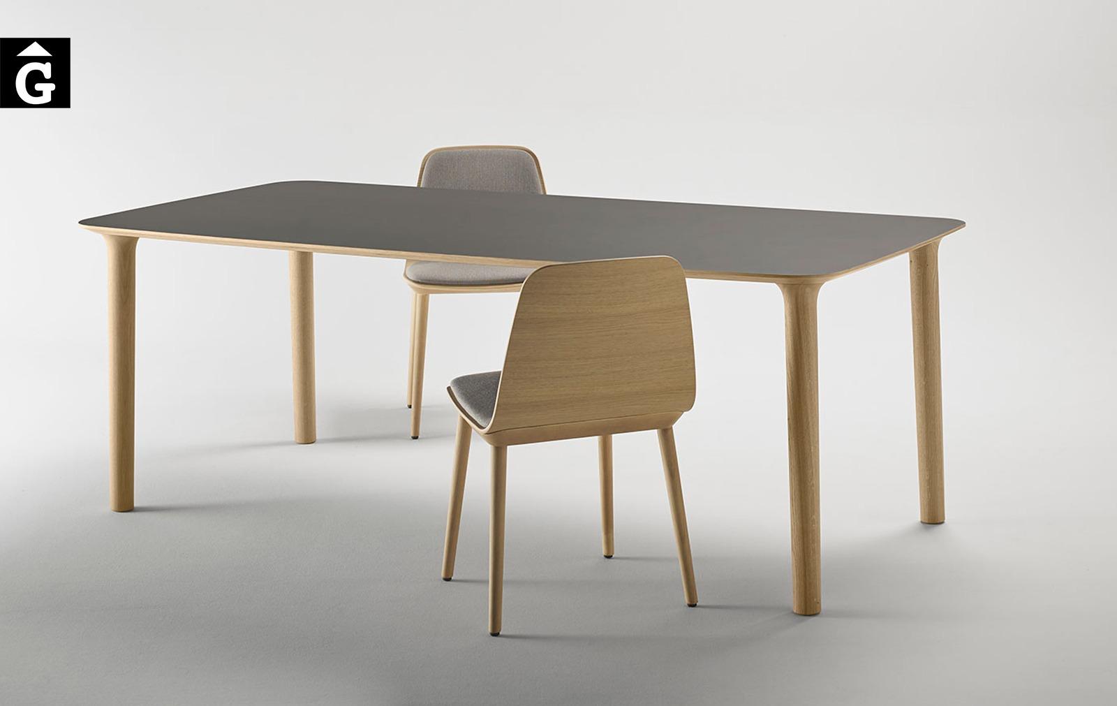 Taula rectangural Roll Studi Molina per Treku Home selecció Gifreu mobles
