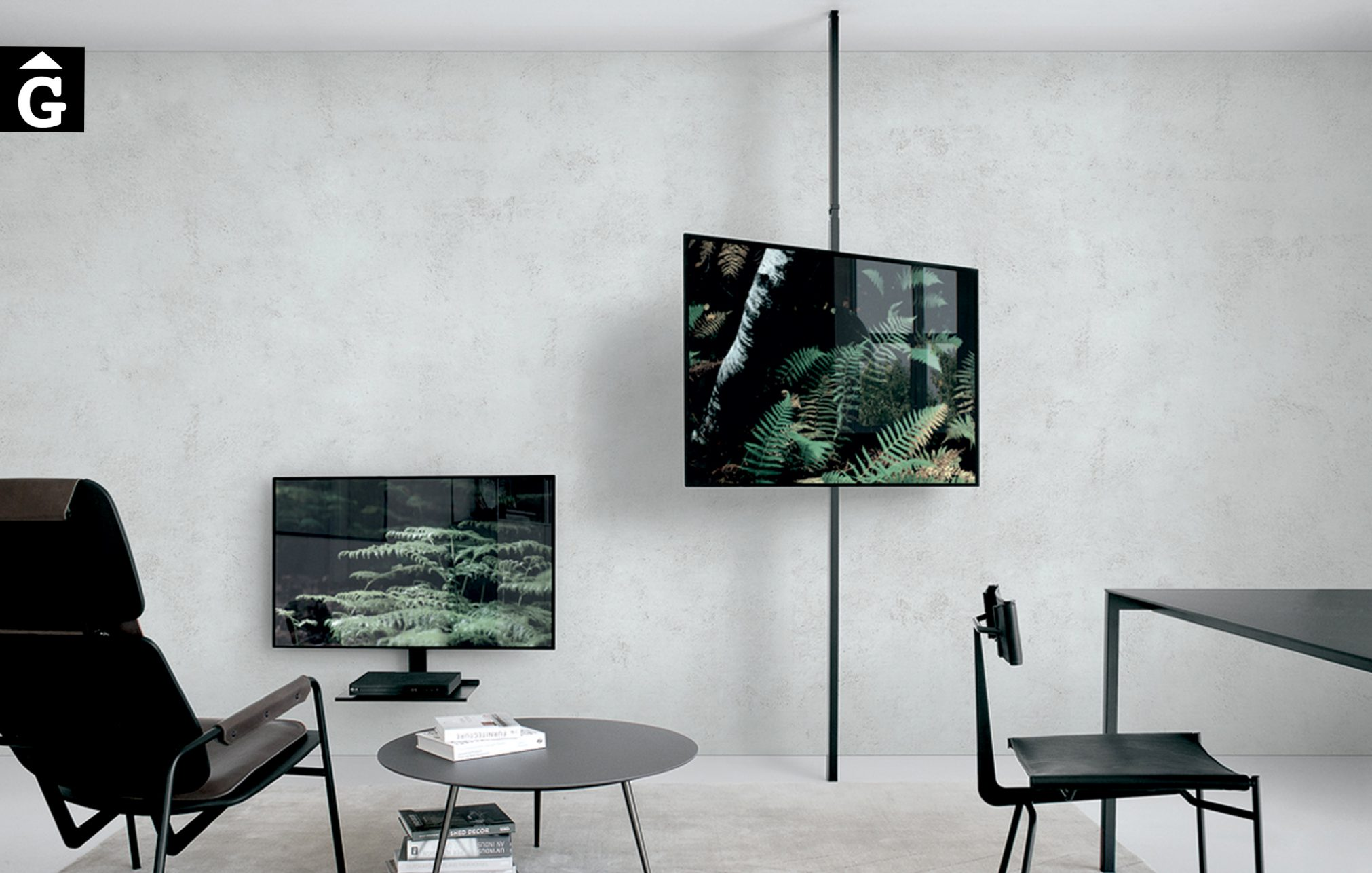 Suports moble Tv Extendo Design Source by mobles Gifreu botiga elements interiors