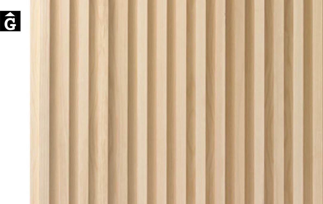 Tamboret Varya ambient natural fusta Inclass cadires tamborets i taules | mobles Gifreu