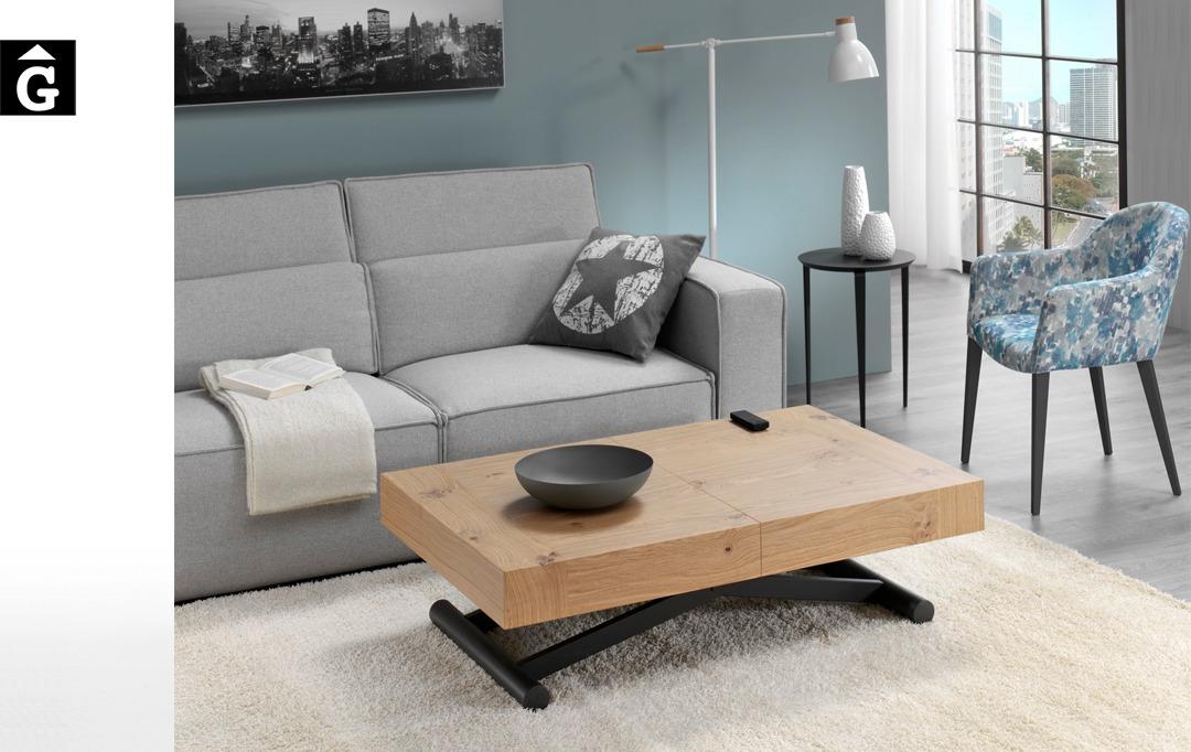 Taula centre Activa elevable | posició baixa | Indesan | taules | mobles Gifreu