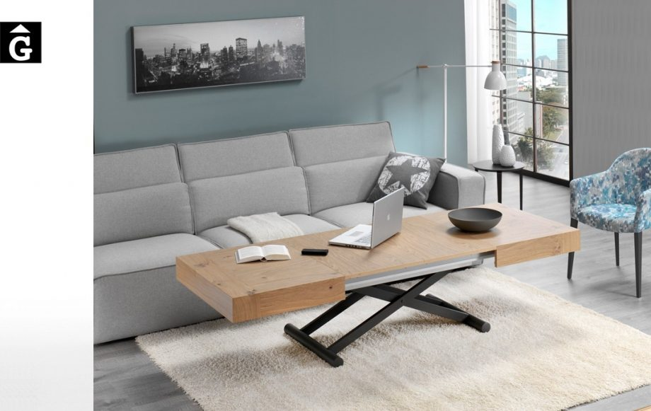 Taula centre Activa elevable | posició mitja | Indesan | taules | mobles Gifreu