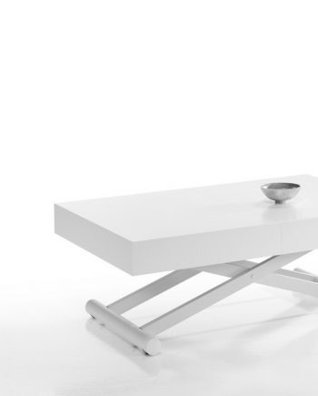 Taula centre elevable Activa blanca | Indesan | taules | mobles Gifreu