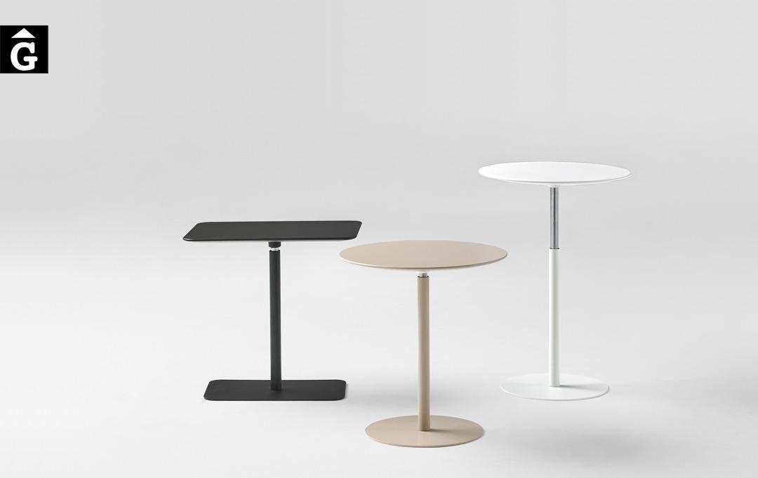 Taules auxiliars sofà butaque regulables en alçada | Inclass cadires tamborets i taules | mobles Gifreu