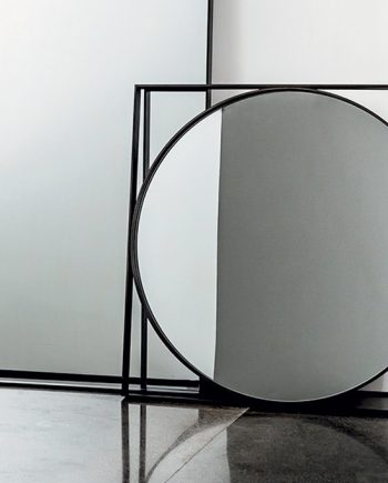 Mirall Visual Geomètric apoyat a terra | Sovet | mobles Gifreu