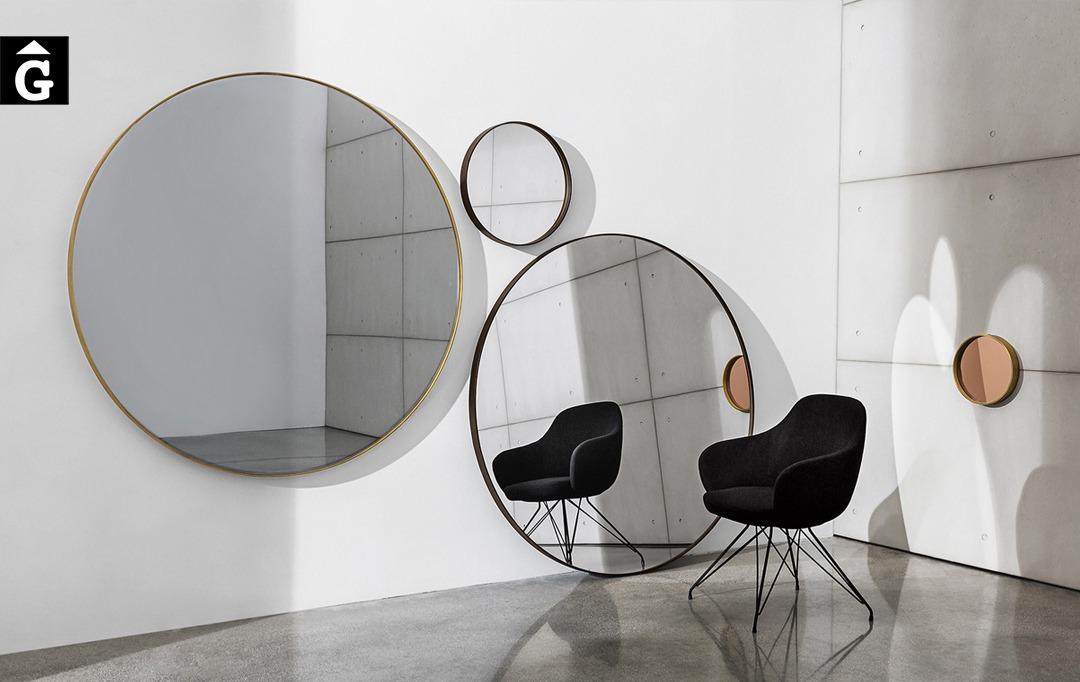 Mirall Visual Round | design Lievore Altherr Molina | Sovet |mobles Gifreu