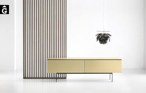 Moble baix potes metall Malmö Gold |Mario Ruiz | Punt mobles | mobles Gifreu