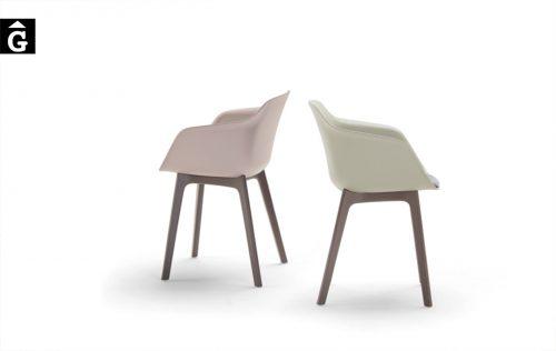 Cadira amb braços Taia polypropilè | Inclass cadires tamborets i taules | mobles Gifreu