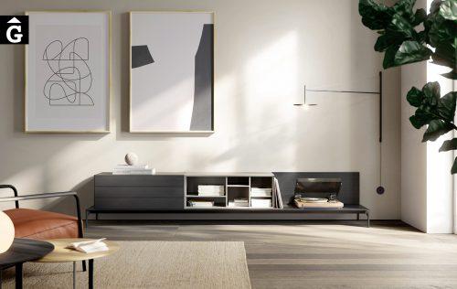 Moble Tv Lauki amb base pota metall | Treku Home selecció Gifreu mobles Girona