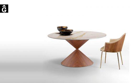 Taula rodona Clessidra Clàssica | MIDJ | mobles Gifreu | Productes de qualitat