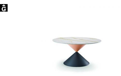 Taula rodona Clessidra | MIDJ | mobles Gifreu | Productes de qualitat
