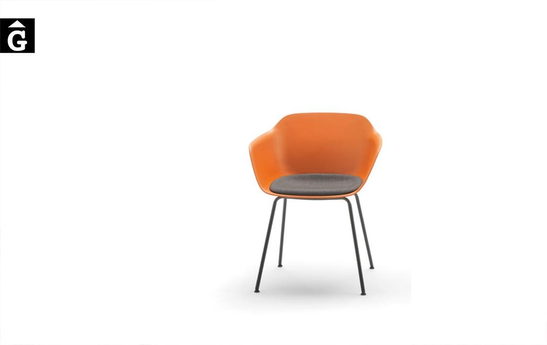 Cadira Taia 4 potes metall | Inclass cadires tamborets i taules | mobles Gifreu