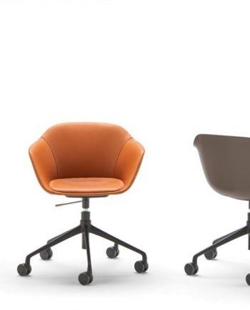 Cadires Taia amb rodes | Inclass cadires tamborets i taules | mobles Gifreu