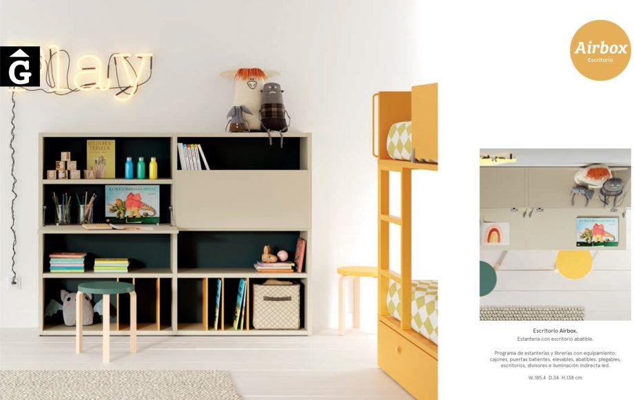 Habitació Juvenil   Detall estanteria   lagrama   mobles Gifreu