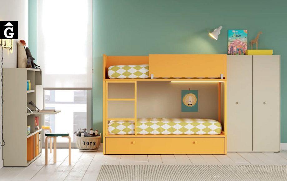 Habitació Juvenil amb llitera Ambar I lagrama   mobles Gifreu
