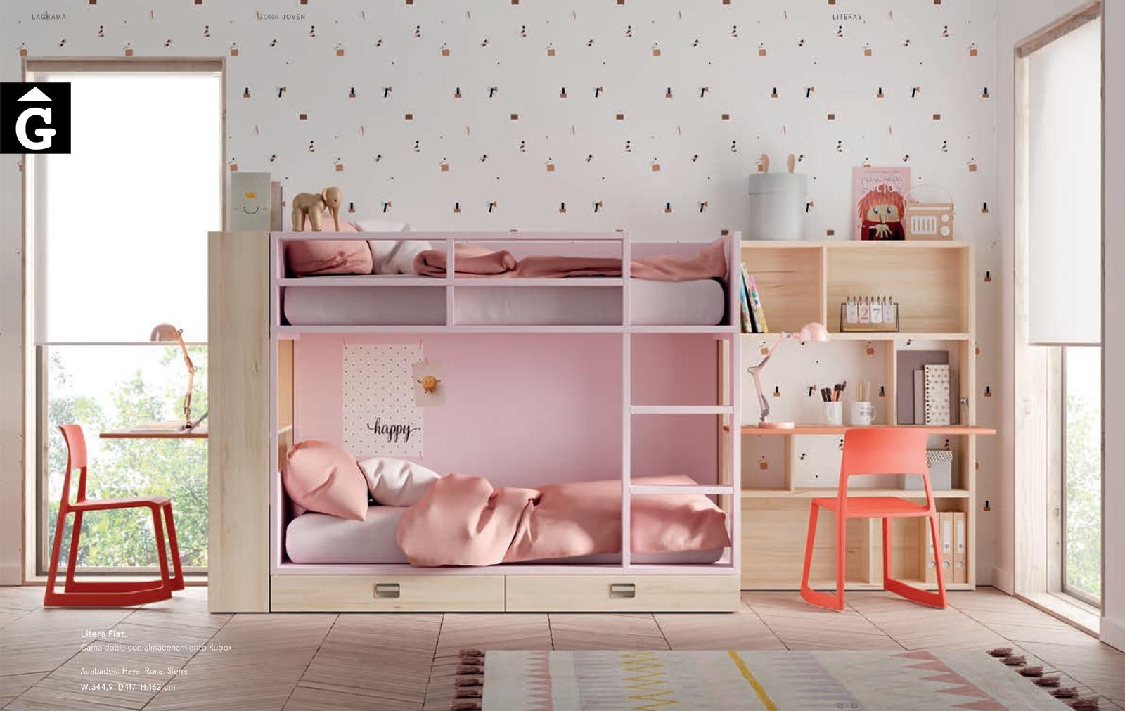 Llitera Pink | Habitació Juvenil I lagrama | mobles Gifreu
