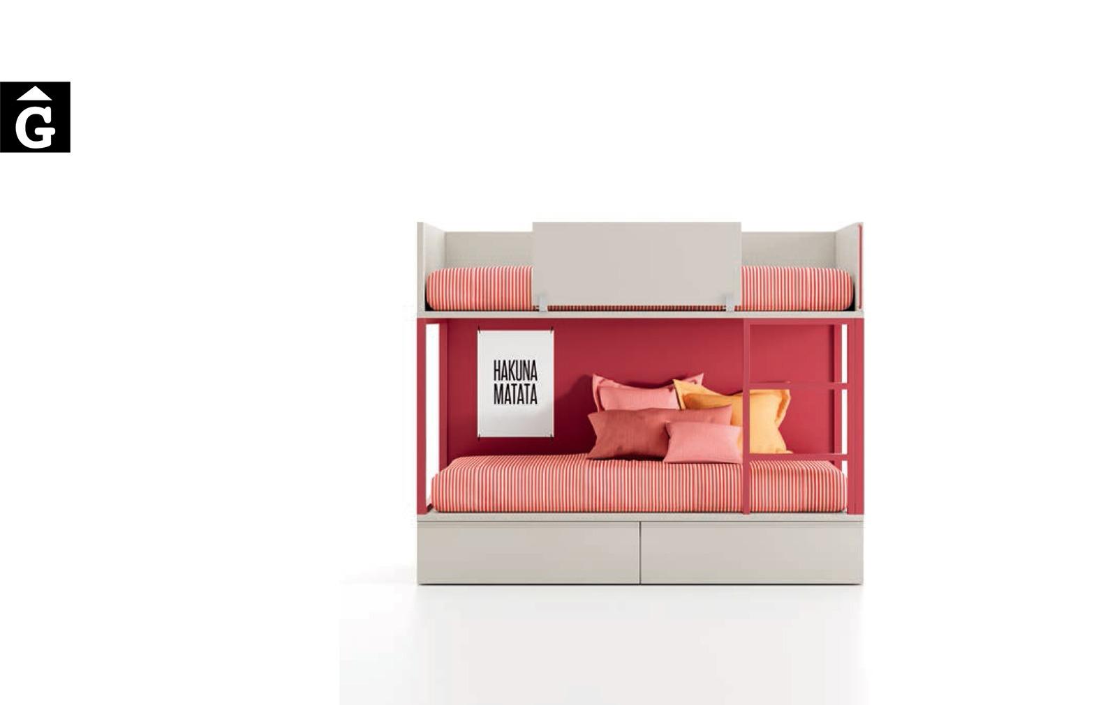 Llitera amb calaixos | Habitació Juvenil I lagrama | mobles Gifreu