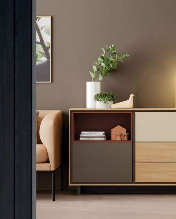 Moble aparador amb forat teja   New Book   On Book   Moble de Qualitat   Vive   mobles Gifreu